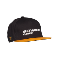 SG Flat Peak 3d logo cap one size black