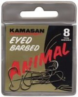 Kamasan Animal Eyed Barbed krok