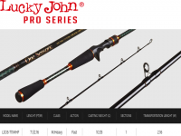ONE SENSORIC FLIPPIN & PITCHING CASTING ROD-LUCKY JOHN PRO SERIES