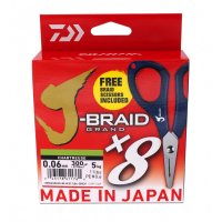 Daiwa J-braid Grand X8 With Scissor 135m