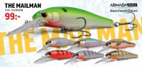 The Mailman 90mm Wobbler Armada Tackle