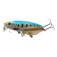 Sg 3D Twitch Minnow 8cm Wobbler