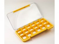 Fly Dressing Yellow box 18m compartments Gray