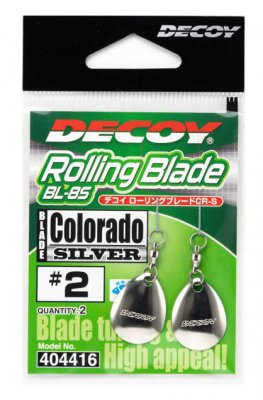 Decoy Trailer Blade Colorado Silver