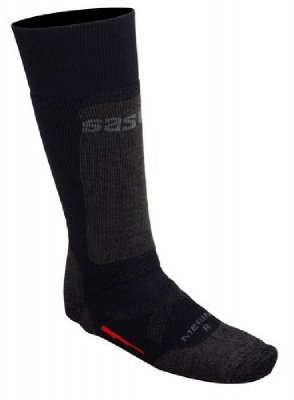Sasta+Merino+wool+sock+long+brown/black