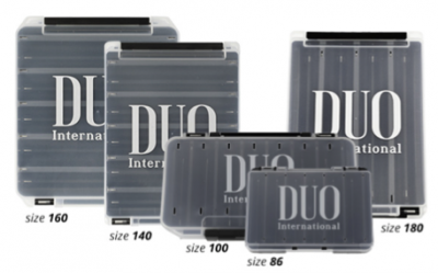 Duo Reversible Lure Case Black