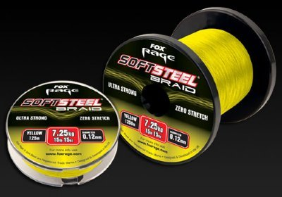 Fox Rage Yellow Soft Steel Braid